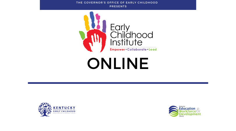 Early Childhood Institute Online 2020 Logo
